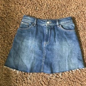 H&M denim skirt!